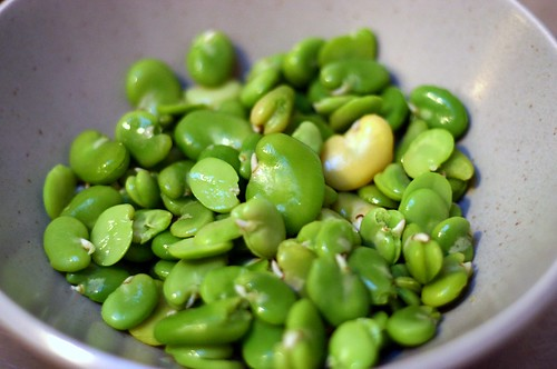 fresh favas, out of their skins | by smitten kitchen