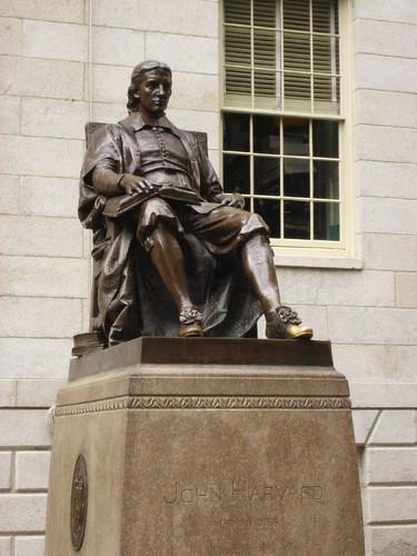 Statue Of Three Lies The Harvard University Campus Has A