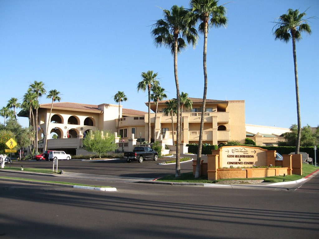 pointe south mountain resort - front entrance | this is quit… | flickr