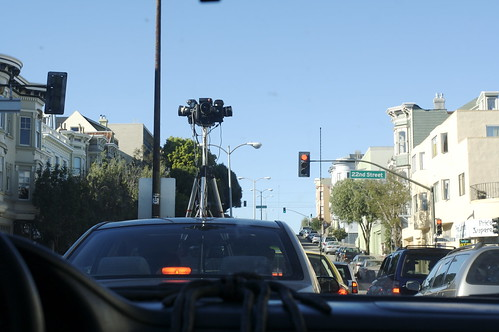 Google Street View car? | by Ben Syverson