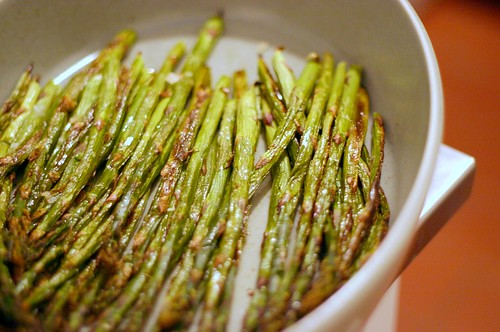 over-roasted asparagus | by smitten kitchen