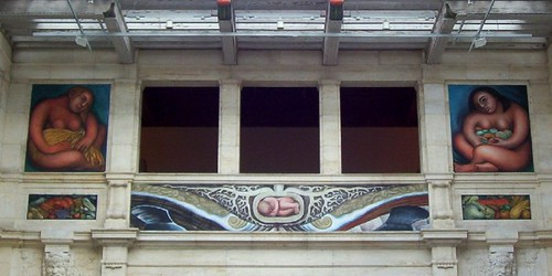 Diego Rivera Mural, Detroit Institute of Arts | by Maia C