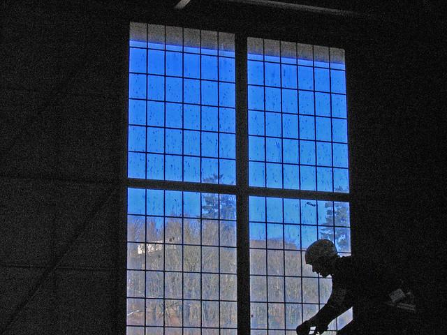 New Three Pane Window For Kitchen