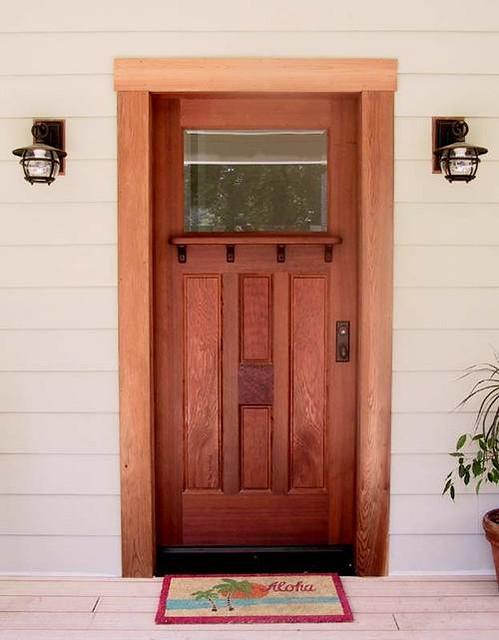 ... Door 5 Brian Lee Mendocino Doors | by j l t & Door 5: Brian Lee Mendocino Doors | This is an old-growth Ru2026 | Flickr