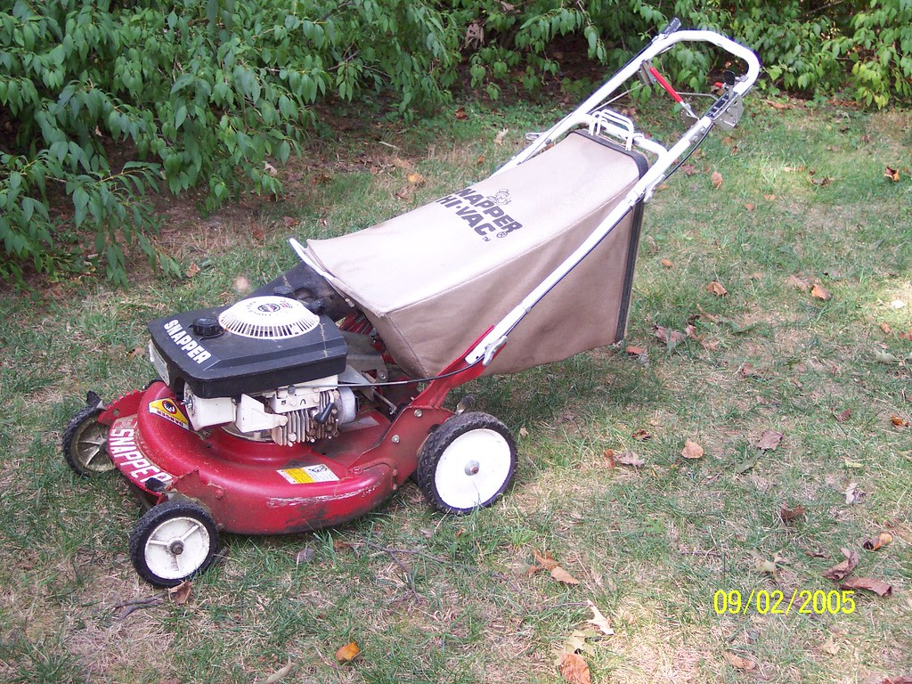 Snapper Mower Clutch : Snapper self propelled hi vac with blade clutch