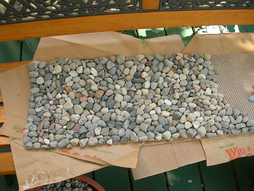 River Rock Fireplace Mat Dumb Idea Betsy Weber Flickr