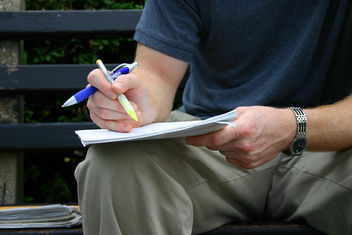 Hands.Pen.Paper.DupontCircle.WDC.17sep05 | by Elvert Barnes