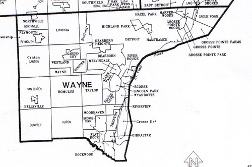 Image Result For Map Of Wayne