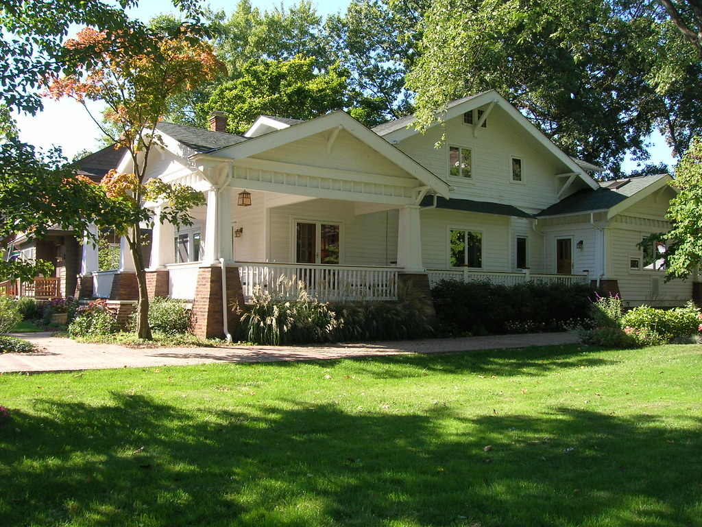 Craftsman House Bungalow Columbus OH