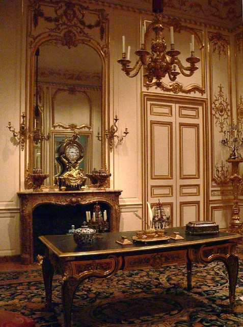 Rooms Furnished In The Rococo Style 5 Photographed At
