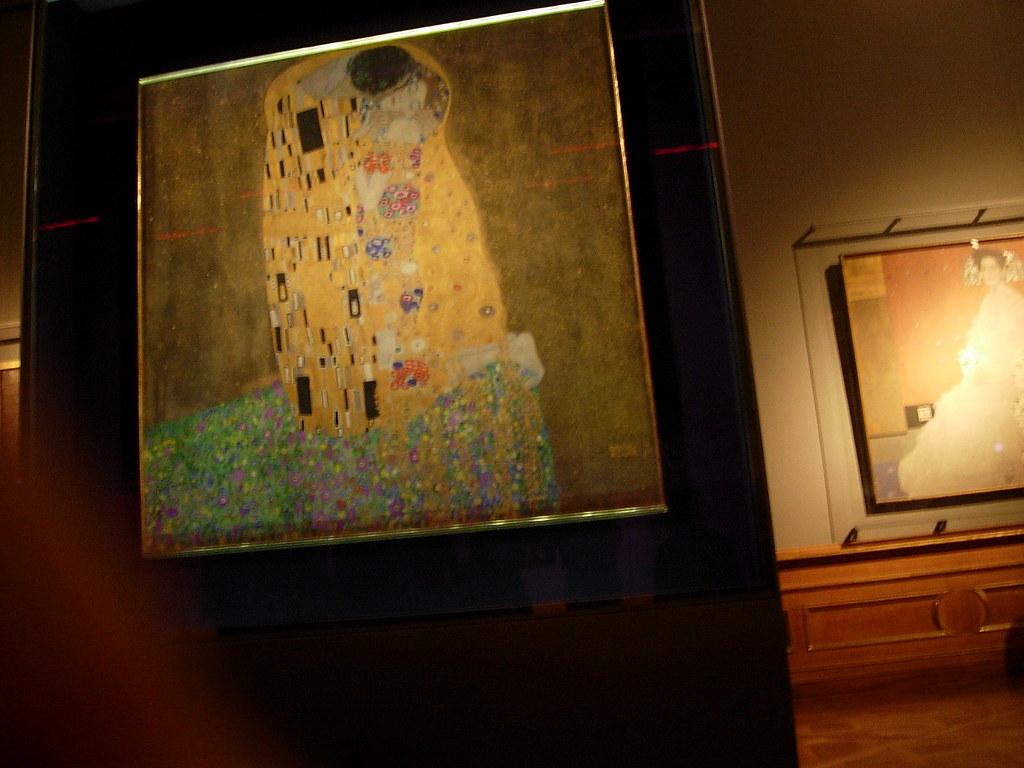 Klimt Der Kuss Wallpaper Der Kuss Quadro de Klimt