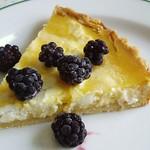 Süße Zitronen-Ziegenfrischkäse-Tarte