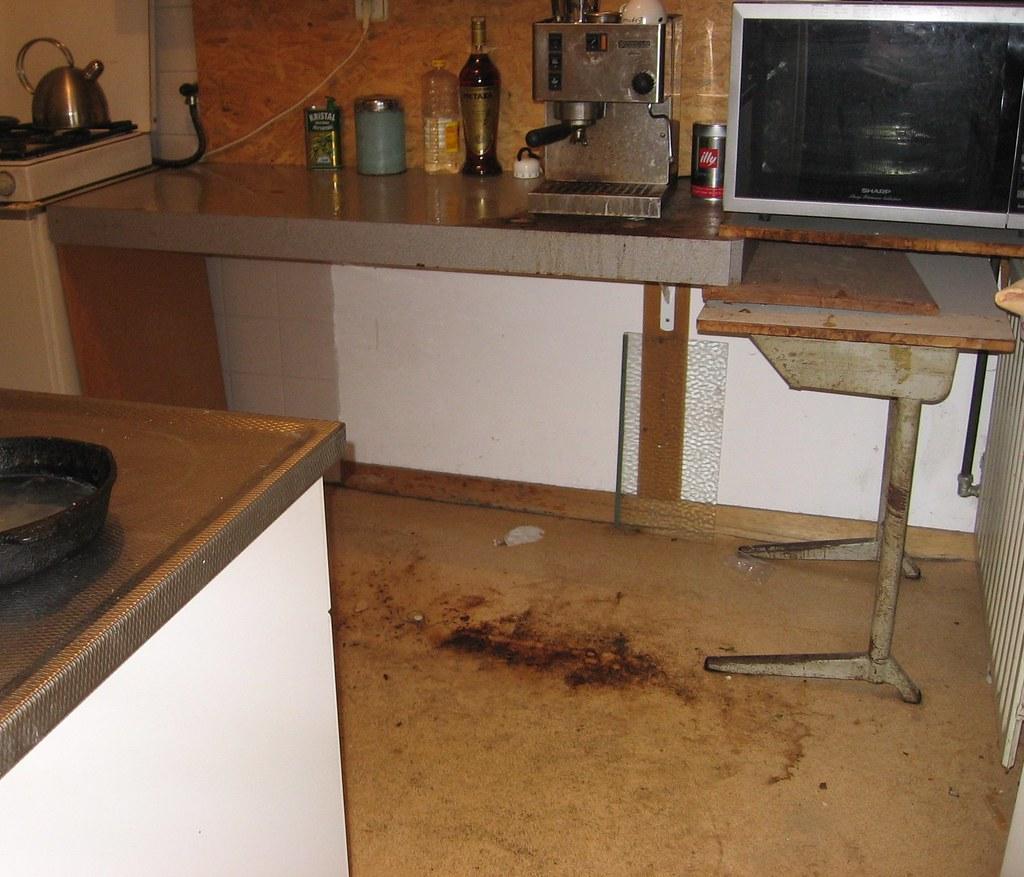 Dirty Kitchen Floor