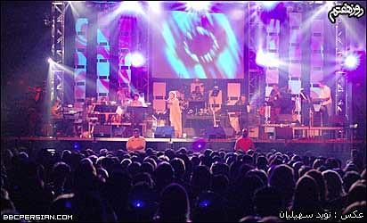 کنسرت گوگوش در تفلیس هدايای مشترک گوگوش و علی دائی (!) در کنسرت گوگوش!! | Flickr