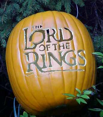 THE LORD OF THE RINGS PUMPKIN! | by The Quipping Queen