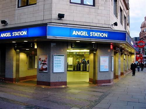 Angel Tube Station | My tube station in Angel/Islington, Lon ...