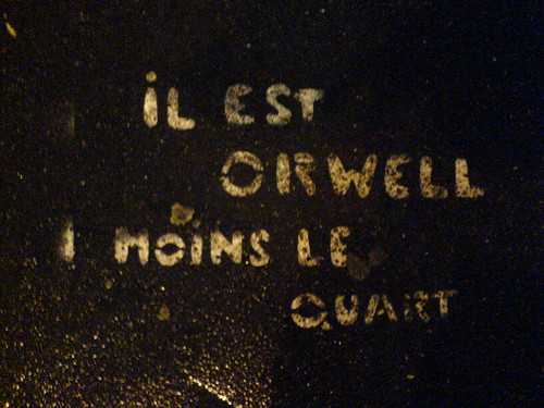 Orwell moins le quart | by clotilde