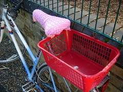 Shopping basket and seat warmer | by mattward