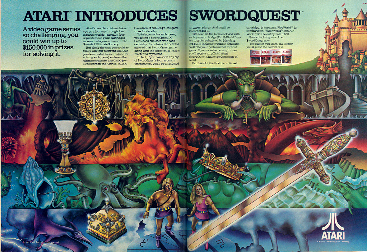 Atari - Swordquest
