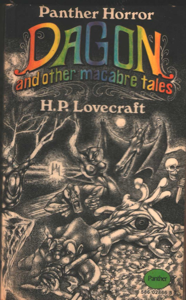 1969 H.P. LOVECRAFT The Colour Out of Space HALLOWEEN and Horror PB 3rd Edition