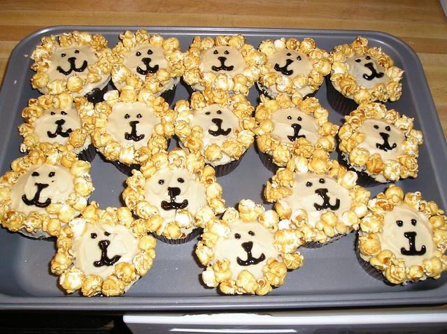 Lion Cupcakes Grrrrr Vegan Chocolate Cupcakes With