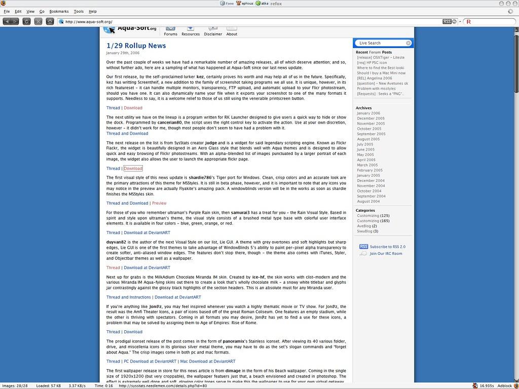 Objectbar themes