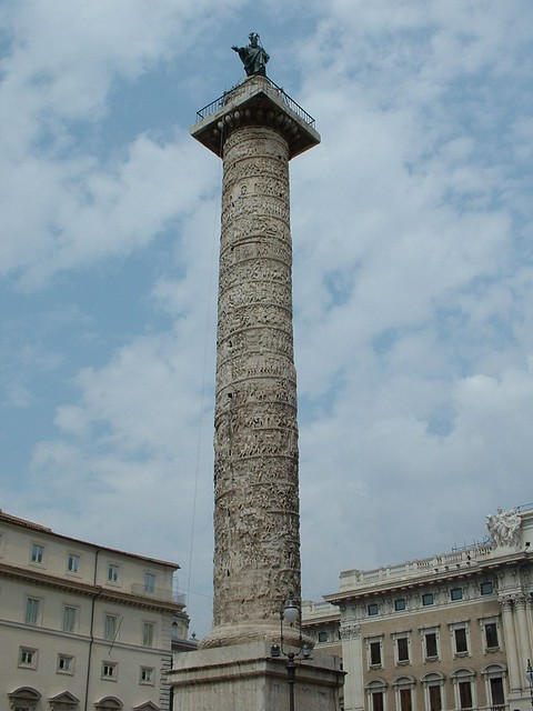 086 Column Of Marcus Aurelius Clearly An Imitation Of