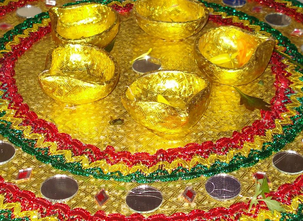 Mehndi Decoration Trays : Mehndi henna tray farrukh flickr
