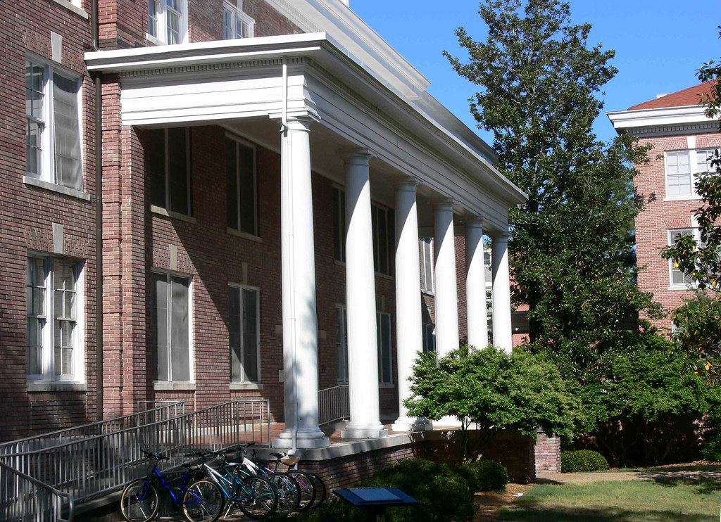 This is Mississippi Hall.