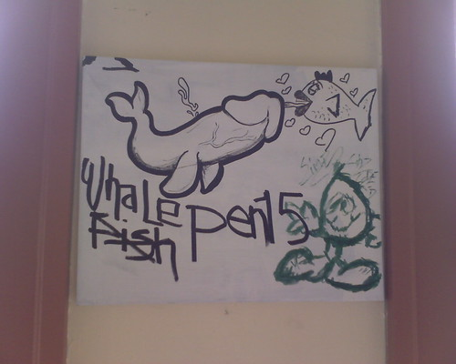PEN15: This Was Hanging On The Wall In The Shoe