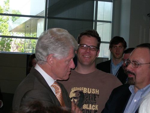 Greg with Bill Clinton | by gregveen