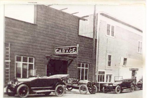 Bray 39 s garage crescent city ca about 1920 owned by my for Garage new s villejuif