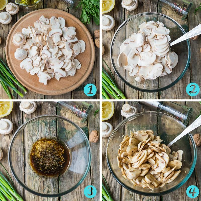 Как приготовить свежие шампиньоны рецепт с