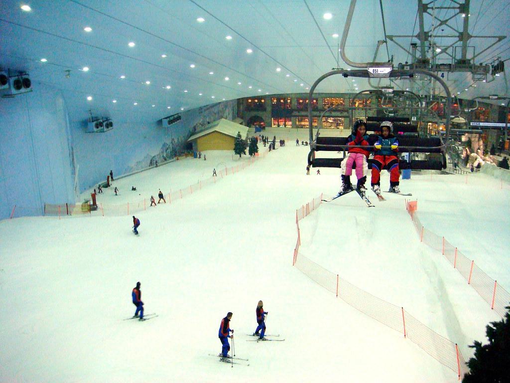 Ski Dubai, Skiing in dubai