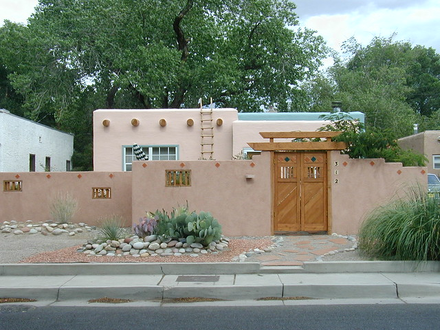 albuquerque adobe style house flickr photo sharing