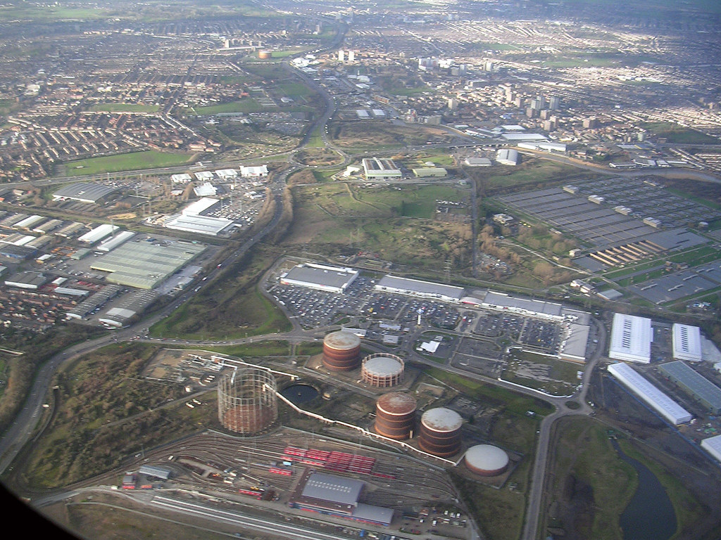 Beckton Gas Works And DLR Depot See Where This Picture