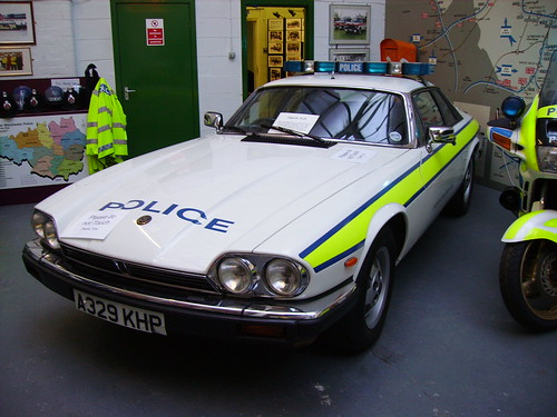 Jaguar Xjs Police Car A329khp At Gmp Museum Nov 06
