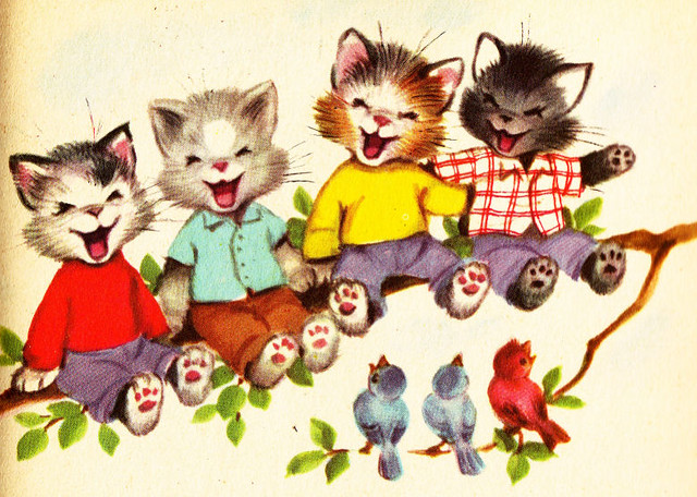 The Seven Wonderful Cats Illustration | Rand McNally Tip-Top… | Flickr