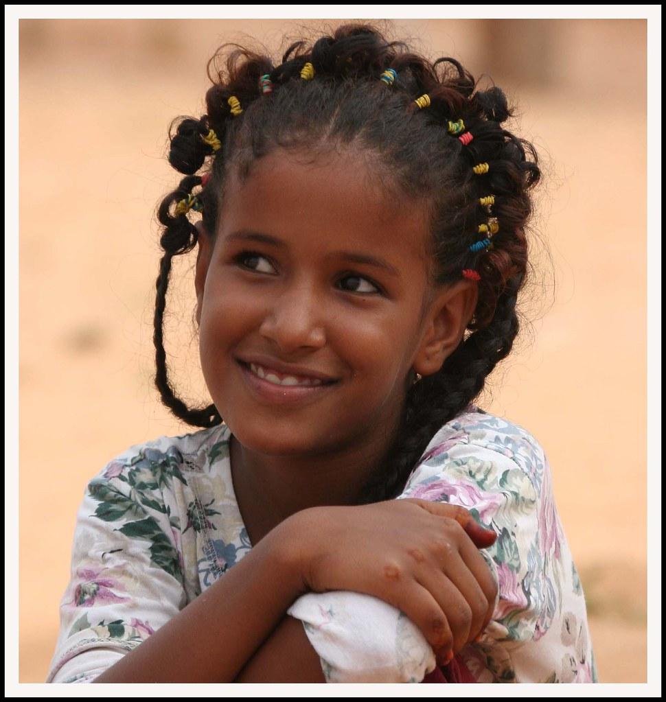 Mauritania girl