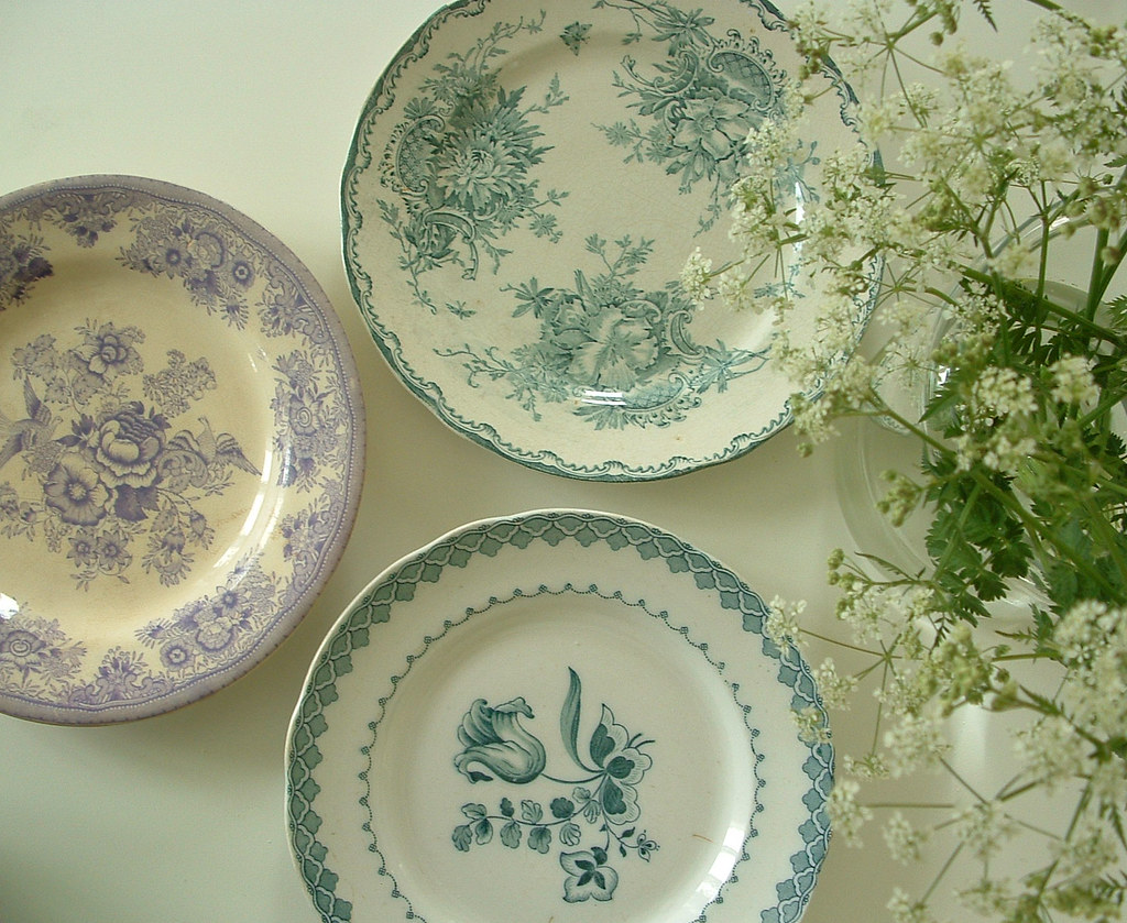 old plates | camilla engman | Flickr