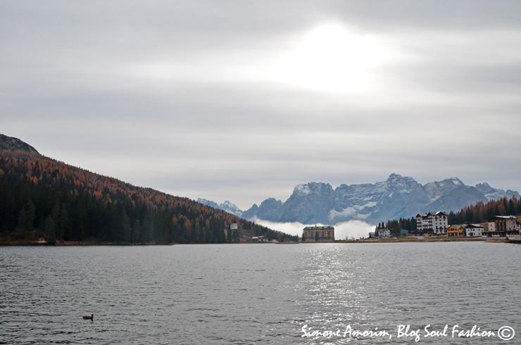 O lido Lago Misurina!