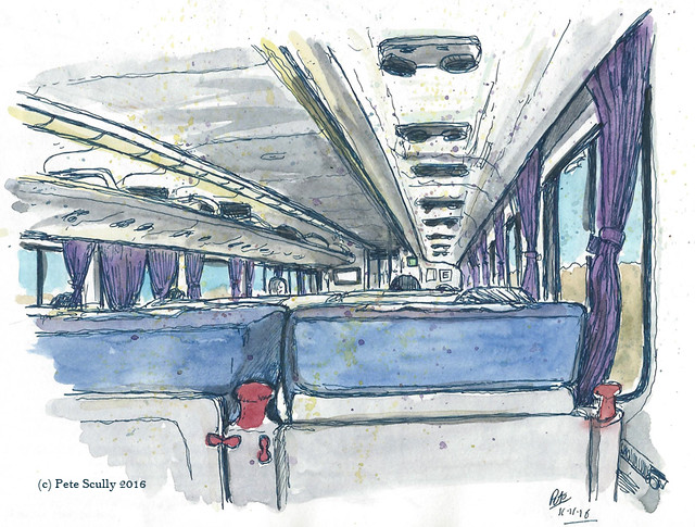 Amtrak from Davis to Richmond