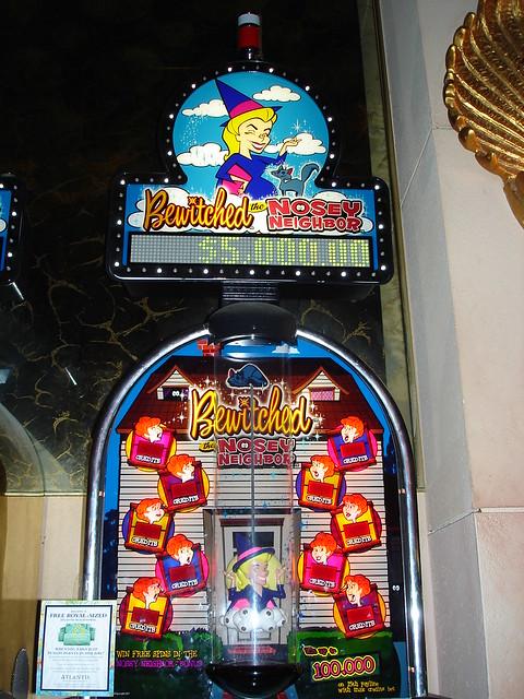 Bewitched slot machine casino корона зеркало