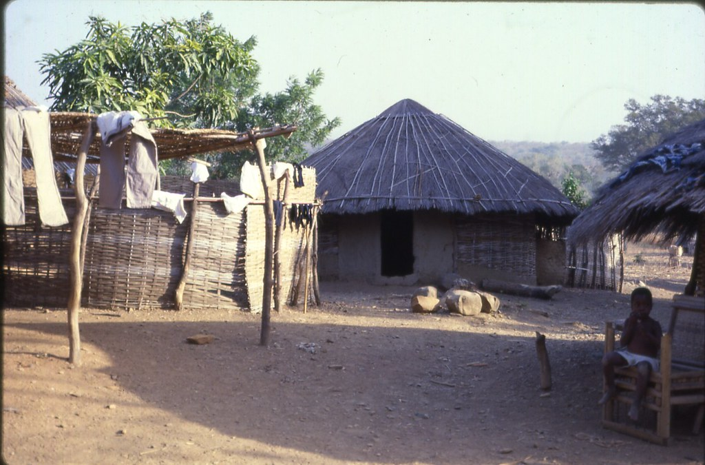 Diallo compound, Ibel, southeast Senegal (West Africa ...
