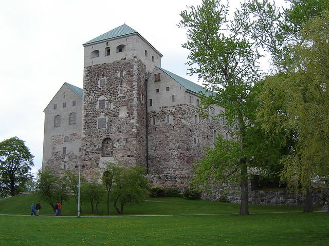 Turun linna lännestä
