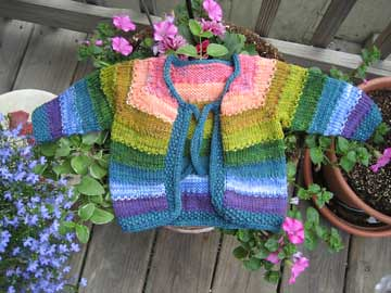 Tulips Baby Cardigan | by twalunas