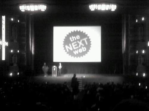 Next Web Conference started! | by The Next Web
