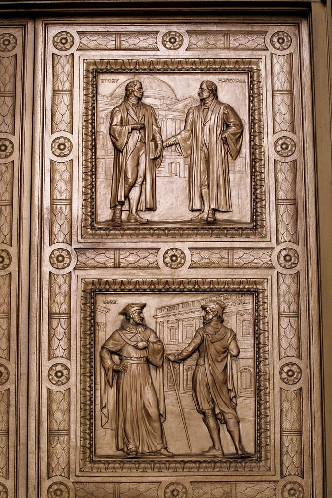 Supreme Court Bronze Panel Doors In Designing The