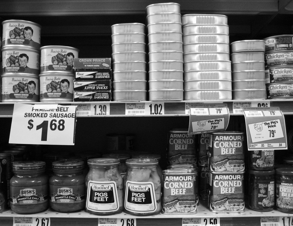 Canned Meats | by Photographs By Wade