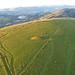 Tumulus at Garth Hill - kite view